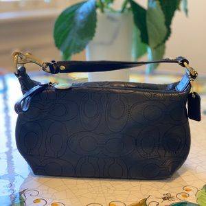 COACH small purse clutch or makeup bag